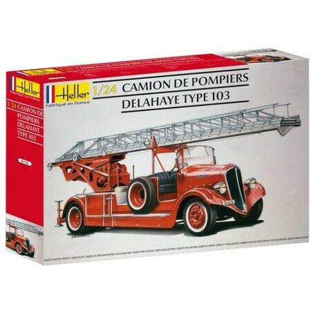 Heller Camion Pompiers Bonneville 1:24