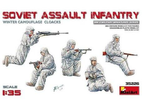 MiniArt Soviet Assault Infantry 1:35
