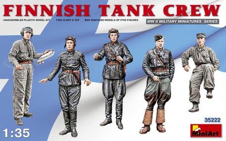 MiniArt Finnish Tank Crew 1:35