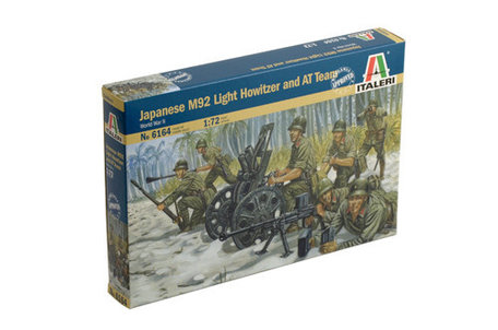 Italeri Japanese M92 Light Howitzer and AT Team 1:72