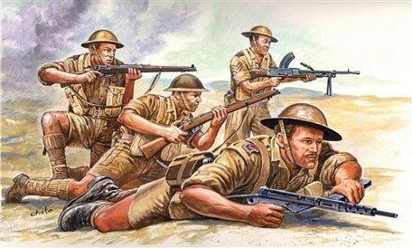 Italeri British 8th Army 1:72