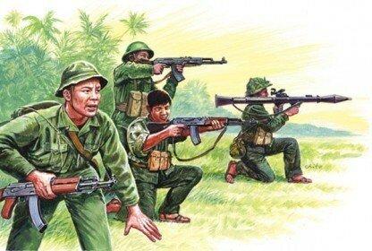 Italeri Vietnamese Army / Vietcong 1:72