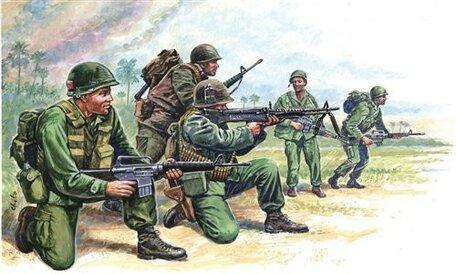 Italeri American Special Forces 1:72