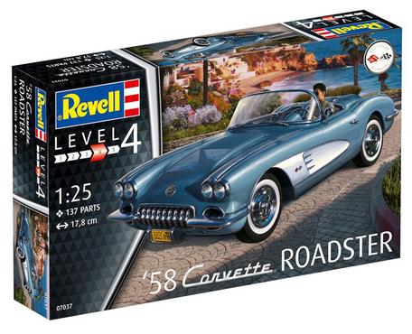 Revell '58 Corvette Roadster 1:25