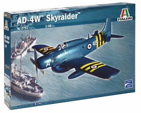 Italeri AD-4W Skyraider 1:48