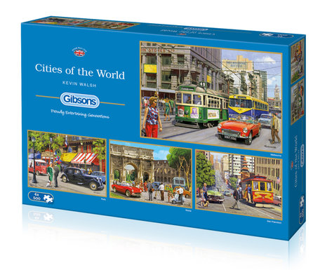 Gibsons Cities of the World