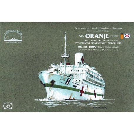 Scaldis Model Club MS Oranje Hospitaalschip