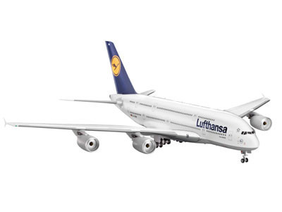 Revell Lufthansa Airbus A380-800 1:144