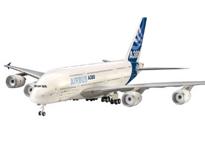 Revell Airbus A380 New Livery 1:144