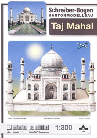 Schreiber Bogen Taj Mahal