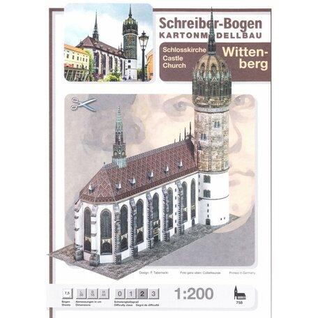 Schreiber Bogen Castle Church Wittenberg
