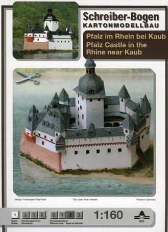 Schreiber Bogen Rhine near Kaub
