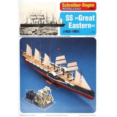 Schreiber Bogen SS Great Eastern