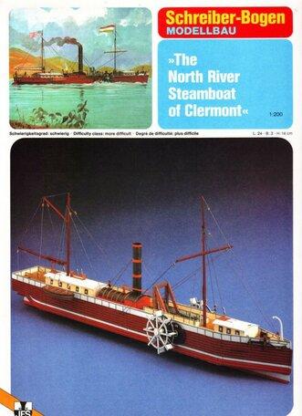 Schreiber Bogen Steamboat of Clermont