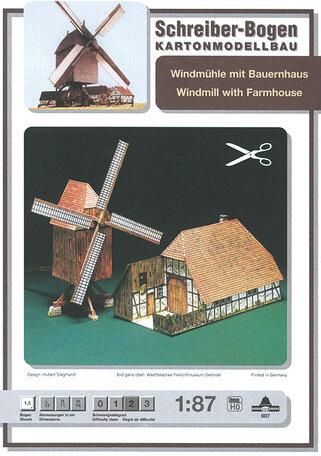 Schreiber Bogen Windmill with Farmhouse