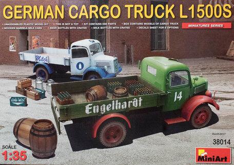 MiniArt German Cargo Truck L1500S 1:35