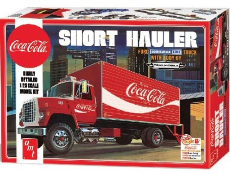 AMT Coca-Cola 1970 Ford Louisville Short Hauler 1:25