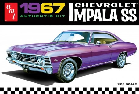 AMT 1967 Chevrolet Impala SS 1:25