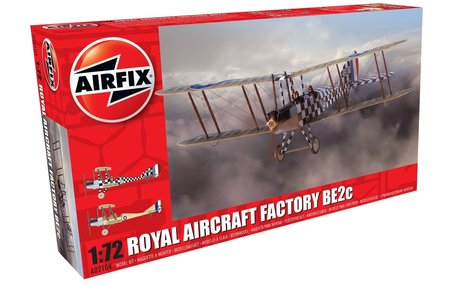 Airfix Royal Aircraft Factory BE2c Scout 1:72