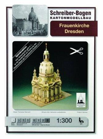 Schreiber Bogen Frauenkirche Dresden