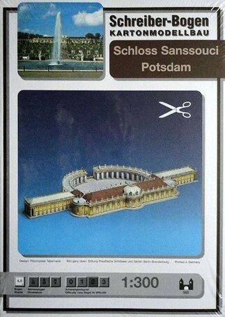 Schreiber Bogen Schloss Sanssouci Potsdam
