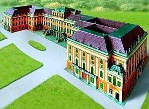 Schreiber Bogen Castle Schönbrunn Vienna