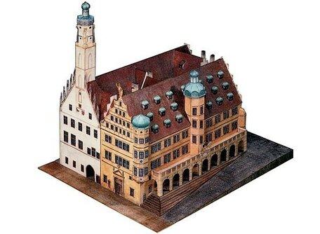 Schreiber Bogen Town Hall Rothenburg