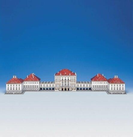 Schreiber Bogen Schloss Palace München