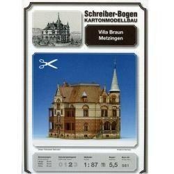 Schreiber Bogen Villa Braun Metzingen