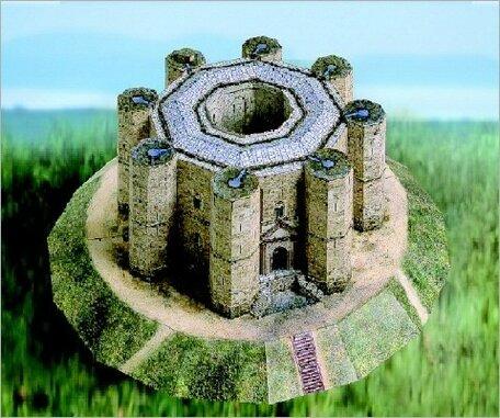 Schreiber Bogen Castle del Monte