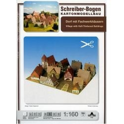 Schreiber Bogen Village with Half-Timbered Buildings