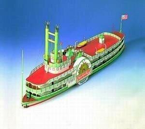 Schreiber Bogen Steamboat Mississippi
