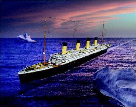 Schreiber Bogen R.M.S. Titanic