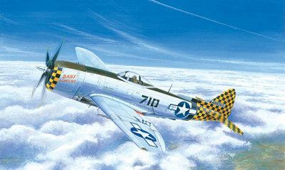 Italeri P-47 N Thunderbolt 1:72