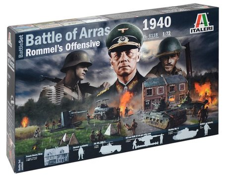 Italeri Battle of Arras 1940 1:72