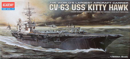 Academy USS Kitty Hawk CV-63 1:800