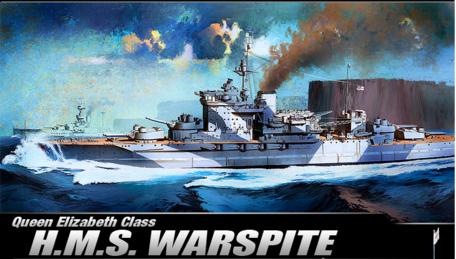 Academy HMS Warspite 1:350