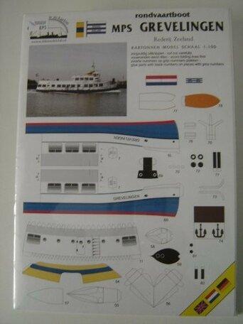 Scaldis Model Club Rondvaartboot Grevelingen