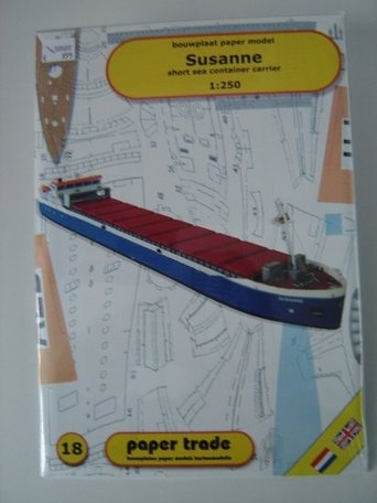 Scaldis Model Club Containerschip Susanne