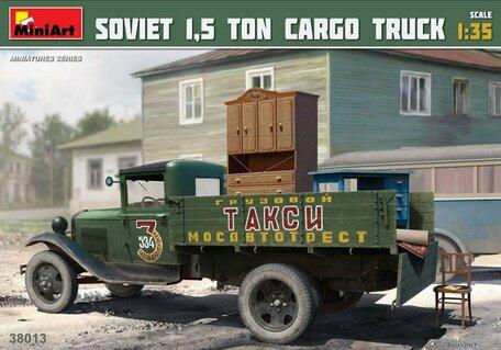 MiniArt Soviet 1,5 ton Cargo Truck 1:35