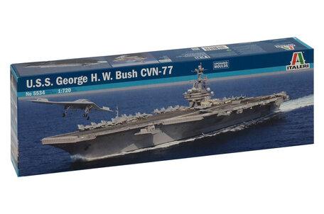 Italeri U.S.S. George H.W. Bush CVN-77 1:720