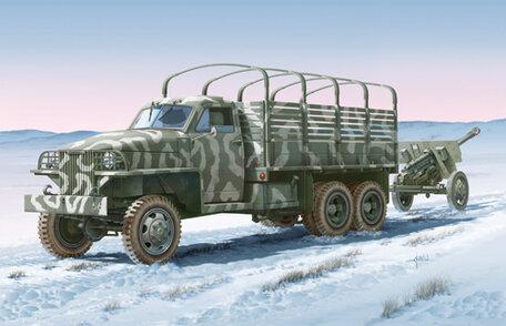 Italeri Lend-Lease U.S. Truck with ZIS-3 Gun 1:35
