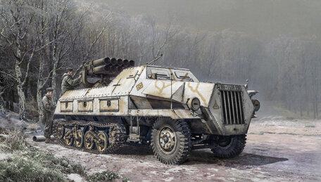 Italeri 15cm. Panzerwerfer 42 Auf Sd.Kfz. 4/1 1:35