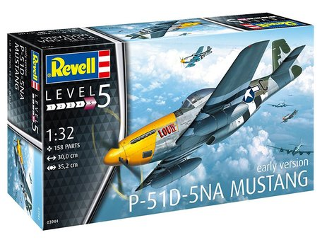 Revell P-51D-5NA Mustang 1:32