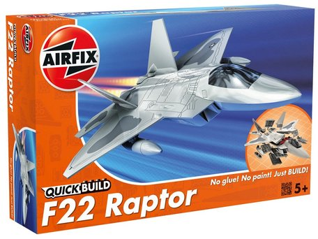 Airfix QuickBuild F-22 Raptor