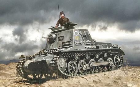 Italeri Sd.Kfz. 265 Panzerbefehlswagen 1:72