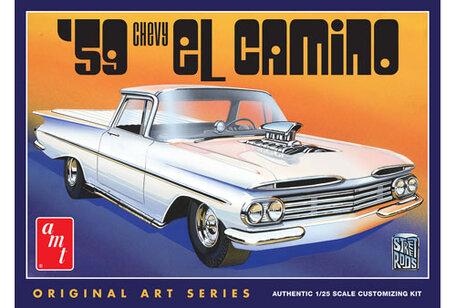 AMT 1959 Chevy El Camino 1:25