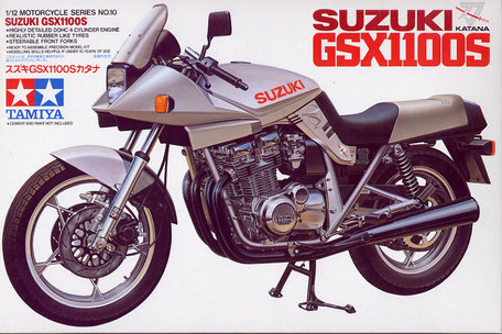 Tamiya Suzuki GSX1100S 1:12