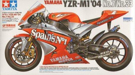 Tamiya Yamaha YZR-M1'04 1:12