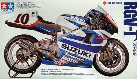 Tamiya Suzuki RGV XR89 1:12